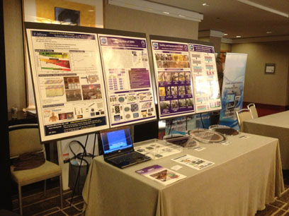 3DIC conf 2013 booth